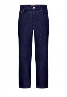 Denim trousers for boy dark blue
