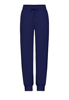 Трикотажные брюки для мальчика цвет темносиний