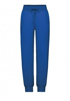 Jersey trousers for boy bright blue