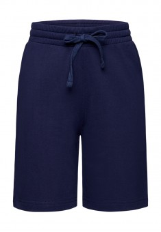 Jersey shorts for boy dark blue