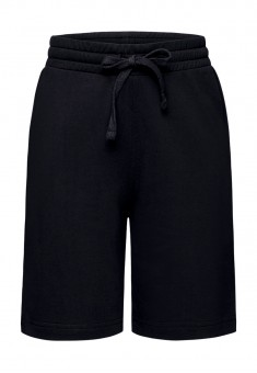 117B3401 Trikotāžas šorti zēnam melnā krāsā
