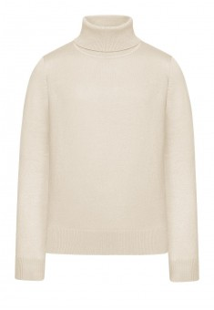 117G2302 Megztas džemperis mergaitei spalva kreminė
