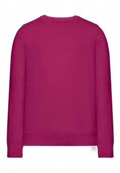 Knitted jumper for girl magenta