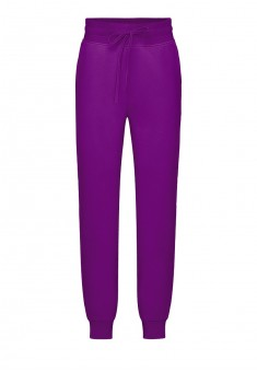 Jersey trousers for girl plum