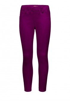 Trousers for girl plum