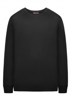 Mens Knit Jumper black