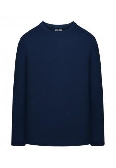 Mens LongSleeve Jersey Tshirt dark blue