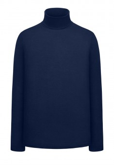 Jersey Turtleneck dark blue