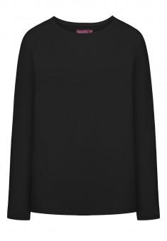 Трикотажная футболка цвет черный