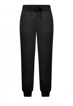 Трикотажные брюки цвет черный