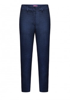 Narrowleg jacquard trousers