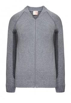 Zipup sweatshirt grey melange