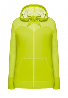 Hooded zipup sweatshirt willow green