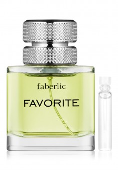 Favorite Eau de Toilette For Him test sample