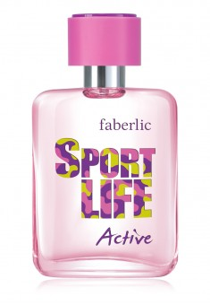 Sportlife Active Eau de Toilette for Her