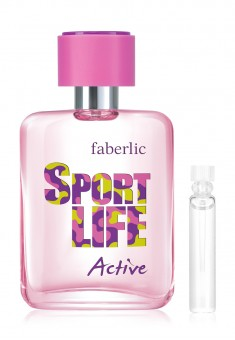 Sportlife Active Eau de Toilette for Her test sample