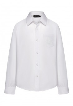 Embroidered shirt for boy white