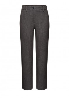 Girls Trousers dark grey melange