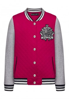 Jersey bomber for girl fuschia