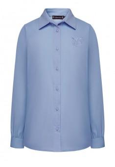 Блузка для девочки цвет голубой