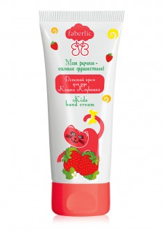 Strawberry Cat Kids Hand Cream
