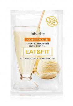 Протеиновый коктейль EatFit со вкусом крембрюле