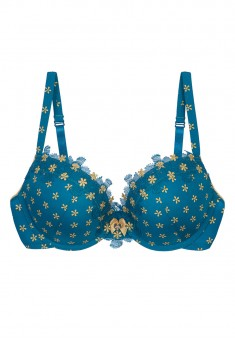 Blanche PushUp Bra blue