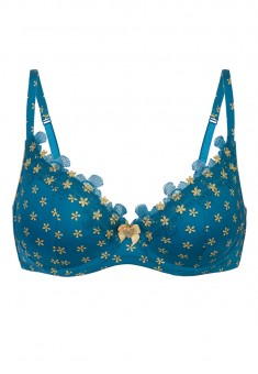 Blanche Underwired Bra blue