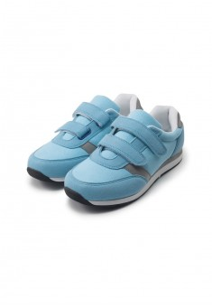 Sport trainers for girl light blue