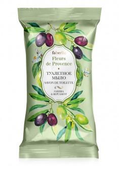 Туалетное мыло Олива  бергамот серии Fleurs de Provence