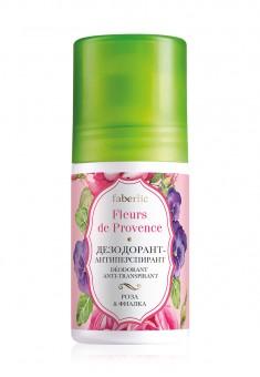 Dezodorantasantiperspirantas Rožė ir našlaitė serija Fleurs de Provence