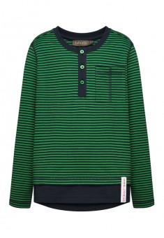 Трикотажный джемпер для мальчика цвет зеленый
