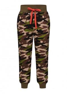 Трикотажные брюки для мальчика цвет мультицвет