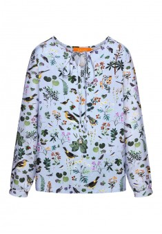 Girls printed blouse