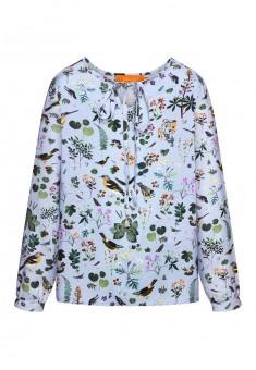Girls printed blouse