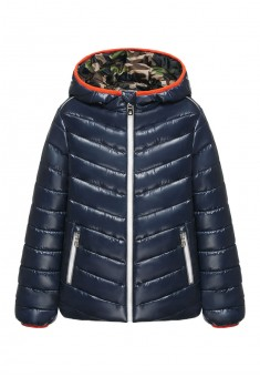 Boys insulated hooded jacket