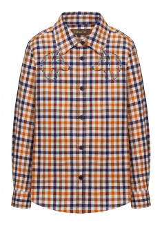 Рубашка c длинным рукавом для мальчика цвет ореховый
