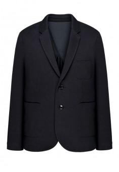 Трикотажный пиджак для мужчины цвет темносиний