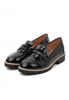 Womens Belle loafers black