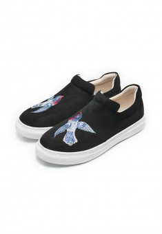 Girls Fairytale slipons black