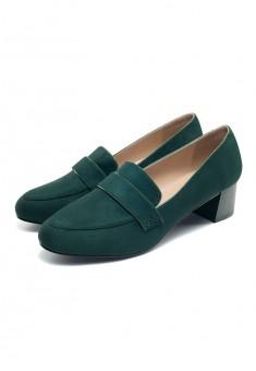 Туфли женские Olivia изумрудные