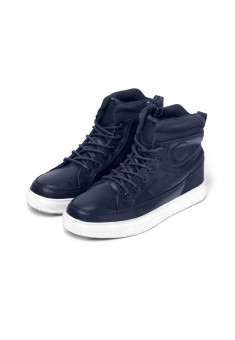 Boys high top sneakers blue