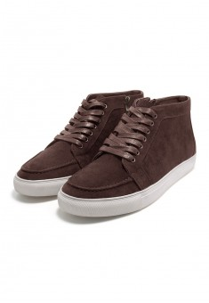 Mens Preppy Sneakers brown