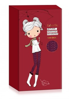 Forest Tale Soft elastic cotton tights SD132 burgundy