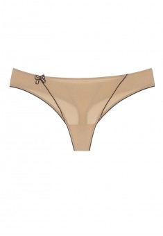 Diva string briefs beige