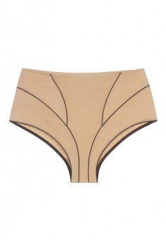 Diva high waist briefs beige
