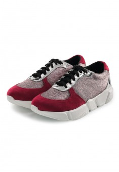 Кроссовки для девочек Street розовокрасные