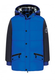 Boys insulated jacket bright blue