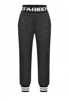 Boys jersey trousers dark grey melange