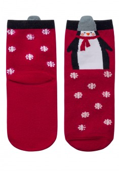 Kids Gift Socks red